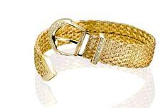 woven gold bracelet milanojewels.it