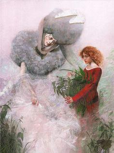djevojka - Nadezhda Illarionova, The Wild Swans