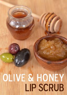 The best DIY projects & DIY ideas and tutorials: sewing, paper craft, DIY. Diy Crafts Ideas Olive & Honey Lip Scrub (Mary Makes Good) -Read Beauty Hacks Lips, Diy Beauty, Beauty Tips, Beauty Ideas, Beauty Makeup, French Beauty Secrets, Relax, Natural Skin Care, Natural Beauty