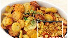 Tajný trik, ako upiecť zemiaky s kvapkou oleja tak, že chutia ako vyprážané: Dajte na stôl túto prílohu a na hranolky si nikto ani nespomenie! Mexican Food Recipes, Ethnic Recipes, Potato Salad, Cauliflower, Food And Drink, Potatoes, Vegetables, Diet, Food