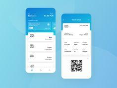 Public Transport Ticket App by Paulina Majkowska on Dribbble Simple Web Design, Minimal Web Design, Modern Web Design, Ux Design, Bus App, Mobile App Design, Mobile Ui, Bus Tickets, Web Design Inspiration