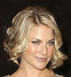short blonde with curly blow dry  visit us for #hairstyles and #hair advice www.ukhairdressers.com