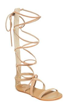 Matisse 'Atlas' Tall Gladiator Sandal (Women) available at #Nordstrom $99.95 (worn by CMCoving)