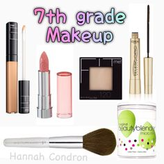 7 th grade middle school makeup for Tweens