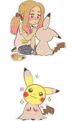 See more 'Mimikyu' images on Know Your Meme! Pokemon Mew, Pokemon Eeveelutions, Pokemon Comics, Pokemon Funny, Pokemon Fan Art, Pikachu, Bulbasaur, Doremi Anime, Cute Pokemon Pictures