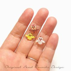 Beaded Earrings Patterns, Seed Bead Patterns, Bracelet Patterns, Beading Patterns, Beading Tutorials, Bead Earrings, Seed Bead Jewelry, Bead Jewellery, Seed Beads