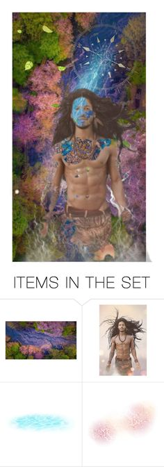 """""""Follow the River inside you"""" by stefania-federici ❤ liked on Polyvore featuring art"""
