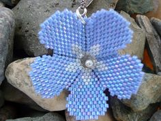 Kriszti gyöngyékszerei és egyéb bohóságok: Mákvirág (eredeti neve: Poppy flower)