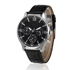 2017 Fashion men Watches Retro Design Leather Band Analog Alloy Quartz Wrist Watch Top Gifts Dropshipping M7 #Affiliate