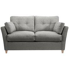 Buy John Lewis Chopin Small Sofa Bed with Memory Foam Mattress, Charcoal online at JohnLewis.com - John Lewis
