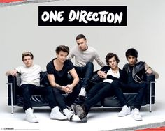 One Direction - Sofa - Official Mini Poster. Official Merchandise. FREE SHIPPING