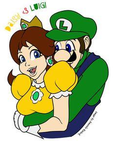Luigi loves Daisy by Luigi-Daisy-Club on DeviantArt