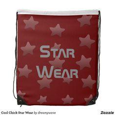 Cool Chick Star Wear Cinch Bag