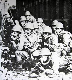 The Japanese had been fighting in China since the early 1930's. During late 1941 and early 1942 Hong Kong and Singapore fell to the enemy along with Malaya, North Borneo, and Thailand. Control over the latter gave Japan rich supplies of rubber, oil, and minerals—resources badly needed by the Japanese to carry on the offensive against the Allies.