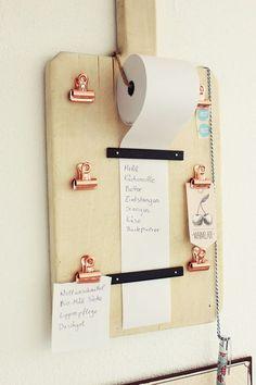Bulk DIY organizer for shopping lists (craft box) # craft articles - deco . - Bulk DIY organizer for shopping lists (craft box) # Handicraft items – decoration handicraft - Diy Organizer, Home Projects, Projects To Try, Pallet Projects, Diy Projects For Men, Furniture Projects, Craft Projects, Craft Ideas, Diy Simple