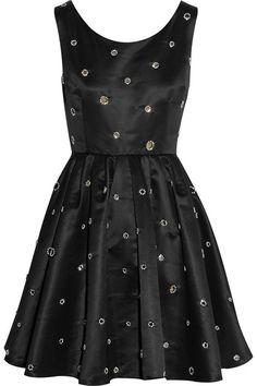 satin mini dress / kate moss x topshop