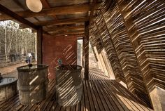 safe haven bathhouse by TYIN tegnestue architects in ban tha song yang AKA mae tawo, thailand