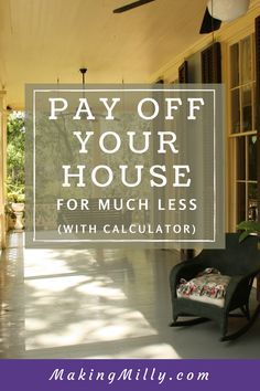 """When it comes to finances, nothing makes me more excited than seeing $1,500 leave my bank account each month. I just can't wait to enter it into my """"House Payment Analysis"""" spreadsheet, to see the amount saved go up a few hundred dollars, and be one month closer to payoff. Why does this make me …"""