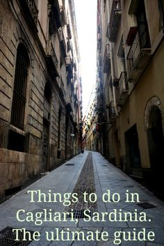Traveling to Italy? Things to do in Cagliari, Sardinia.