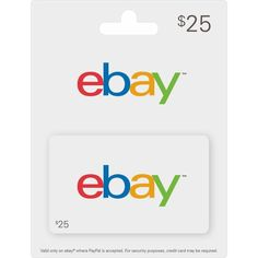 #Ebaygiftcard  #Ebaygiftcards  #Ebaygiftcardcode Get $25 eBay gift card for free. Best Gift Cards, Free Gift Cards, Making Money On Ebay, Ebay Selling Tips, Free Gift Card Generator, Free Printable Cards, Gift Card Giveaway, Amazon Gifts, Cool Things To Buy