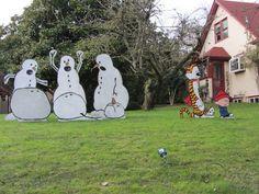 Funny Christmas Yard