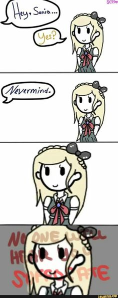 Why Sonia Nevermind joined the Ultimate Despair...