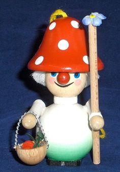 Steinbach Mushroom Man Ornament