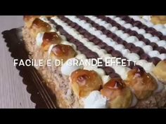 Torta S. Honorè - facile e di grande effetto - TUTTI A TAVOLA - YouTube