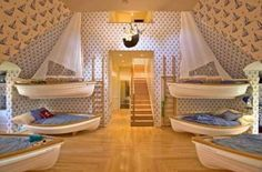 :) I'm in love with these bedrooms!