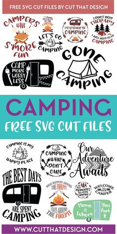 Here at Cut That Design (AKA ESI Designs) we offer a wide selection of free SVG . - Here at Cut That Design (AKA ESI Designs) we offer a wide selection of free SVG files for personal - Cricut Vinyl, Cricut Craft Room, Cricut Fonts, Free Svg Fonts, Camping Hacks With Kids, Camping Tricks, Cricut Svg Files Free, Free Svg Cut Files, Svg Files For Scan And Cut