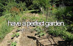 Have a perfect garden