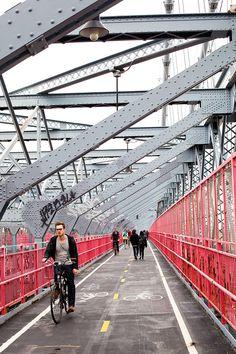 walk over the williamsburg bridge.