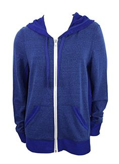 This cozy hooded #sweatshirt is perfect for spring and fall.