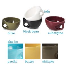 Enjoy a moment of Zen with the handmade Buddha Bowl. Nestled naturally in your palm, this bowl allows you to enjoy rice, soup, cereal and hot cocoa with ease. Its comforting shape washed in soothing color, this dish brings a touch of tranquility to your daily routine. Who knows-maybe you'll find enlightenment in your morning latte.