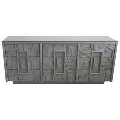 Brutalist Lane Dresser in Ash Grey — Flow Modern | Palm Springs, CA