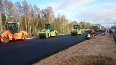 MOBA - Intelligent compaction with the MCA - 2000 in Russia.