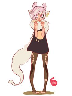 Wolf Girl by MeoMai.deviantart.com on @DeviantArt