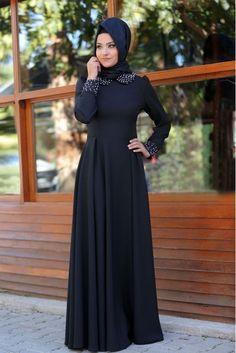 Lug Elbise - Siyah - Nurgül Çakır