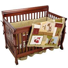 Eddie Bauer Enchanted Hollow 4-Piece Crib Bedding Set. Thought of you when I saw this!  What do you think?