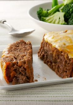 Quick-Fix Cheeseburger Meatloaf – meatloaf is especially delicious with a quick topping of ketchup and cheese.