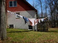 I still like the fresh smell off the line!Backyard clotheslines and washboard secrets | Energy Bulletin