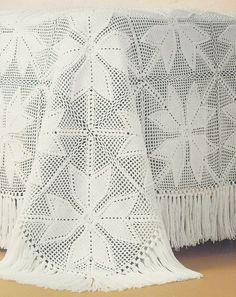 Bedspread Crochet Patterns 6 Designs
