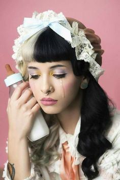 New photos of Melanie Martinez for Alternative Press (Photography by Emily Soto) Cry Baby, Crybaby Melanie Martinez, Idole, Crazy People, Music Artists, Crying, Beautiful People, Celebs, Vogue