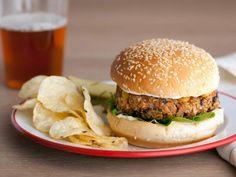 Get Morgan's Veggie Patties Recipe from Food Network