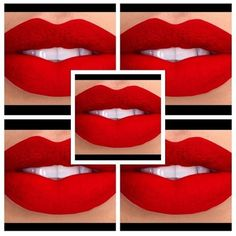 show off red matte lipstick by kaoir