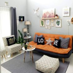 Read all you need to know about living room minimalist. Get inspired simple living room design, modern small living room, Minimalist interior design. Simple Living Room Decor, Home Design Living Room, Small Living Rooms, Minimalist Furniture, Minimalist Home, Home Interior Design, Living Room Furniture, Decoration, Home Decor