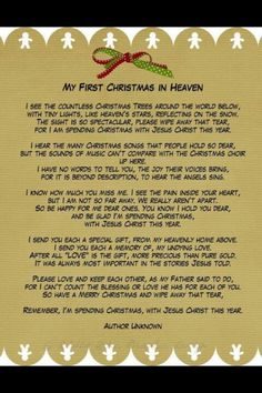 Christmas in Heaven.missing you daddy your first Christmas in Heaven.our first Christmas without you. Christmas In Heaven, Christmas Poems, First Christmas, Merry Christmas, Christmas Crafts, Christmas Time, Christmas Printables, Christmas Stuff, Christmas Blessings