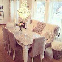 This dining room set is EVERYTHING!  My dream!