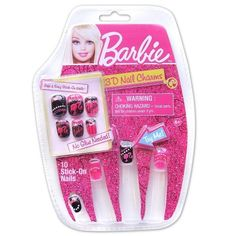 Barbie 3D Nail Set - Barbie Gems -- Find out more about the great product at the image link.