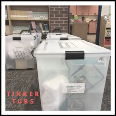 Tinker Tubs: District-Wide Mobile Makerspaces
